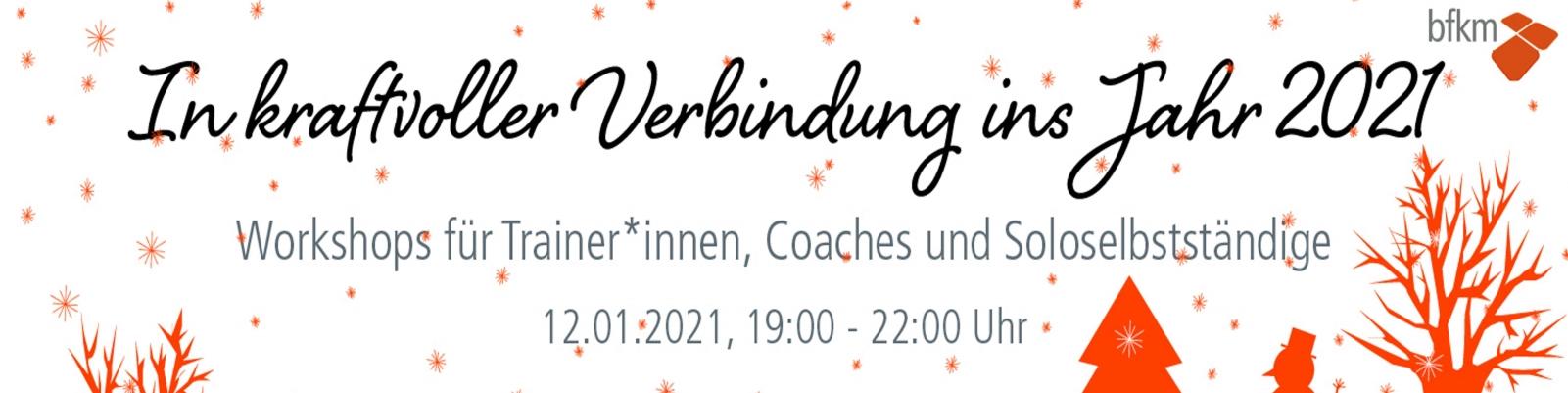 Workshops für Trainer*innen und Coaches